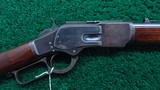 WINCHESTER 1873 2ND MODEL SADDLE RING CARBINE IN CALIBER 44-40