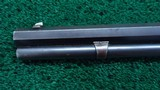 WINCHESTER 1ST MODEL 1873 DELUXE RIFLE IN CALIBER 44-40 - 14 of 21
