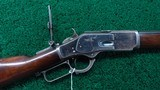 EXTREMELY SCARCE WINCHESTER 1873 2ND MODEL RIFLE IN 44 WCF