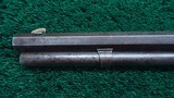 WINCHESTER 1ST MODEL 1873 RIFLE - 13 of 22
