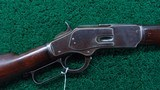 WINCHESTER MODEL 1873 RIFLE WITH SCARCE 30 INCH OCTAGON BARREL IN CALIBER 32-20