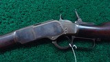 2ND MODEL 1873 WINCHESTER RIFLE IN 44 WCF - 2 of 19