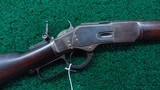 2ND MODEL 1873 WINCHESTER RIFLE IN 44 WCF - 1 of 19