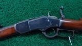 SPECIAL ORDER WINCHESTER 1873 RIFLE IN 38 WCF - 2 of 20