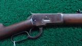 ANTIQUE WINCHESTER MODEL 1892 RIFLE IN DESIRABLE 44-40 CALIBER - 1 of 20