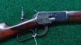 WINCHESTER MODEL 1892 RIFLE IN CALIBER 38-40