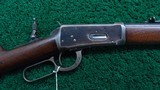 ANTIQUE WINCHESTER MODEL 1894 RIFLE IN 38-55 - 1 of 21