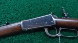 ANTIQUE WINCHESTER MODEL 1894 RIFLE IN 38-55 - 2 of 21