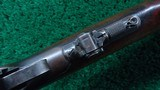 ANTIQUE WINCHESTER MODEL 1894 RIFLE IN 38-55 - 8 of 21