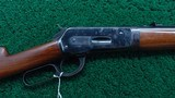 WINCHESTER MODEL 1886 LIGHTWEIGHT TAKE DOWN RIFLE IN CALIBER 33 WCF