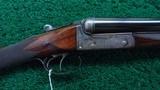 J&W TOLLEY ENGLISH SXS 12 GAUGE SHOTGUN - 1 of 25