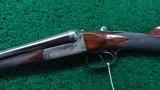 J&W TOLLEY ENGLISH SXS 12 GAUGE SHOTGUN - 2 of 25