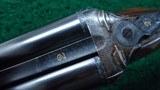 J&W TOLLEY ENGLISH SXS 12 GAUGE SHOTGUN - 13 of 25