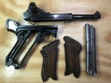 WWII German Mauser S/42 Luger G date - 10 of 11