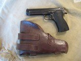 French Model 1935A Pistol Vietnam Bring Back with Holster - 1 of 15