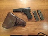 French Model 1935A Pistol Vietnam Bring Back with Holster - 14 of 15