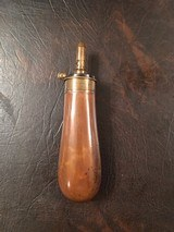 Colt Dragoon flask for English case. 1 1/4, 1 3/8, 1 1/2 Drams