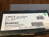 BROWNING A-BOLT IIMedallion 325wsmLEFT HANDNew in Box - 4 of 15