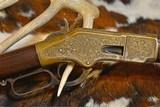 Winchester Model 1866 Nimschke Engraved Rifle - 4 of 20