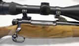 Harris / McMilllan Talon Custom .340 Wby, English Walnut - 2 of 11