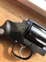 Brig. Gen. Charles Baron Engraved - Sands Executive S&W Mod 36 Flat Latch .38 Special - PRISTINE
