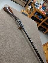 W. W. Greener, 12 ga., deep relief engraved, excellent gun. - 7 of 15
