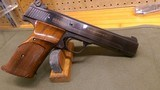 """Smith and Wesson Model 41 pistol, 22 lr., extendable front sight barrel (EFS) 5.5"""""""