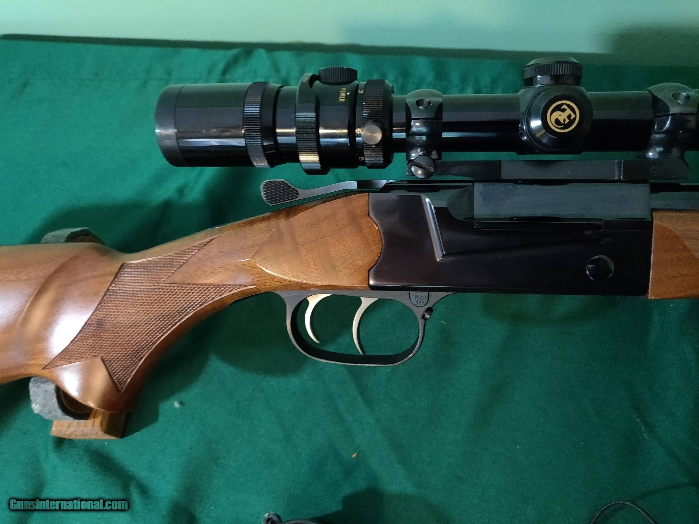 Thompson Center TCR 83 Aristocrat rifle and TC scope, 22/250