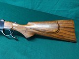 Ruger #3 custom rifle in 22 Hornet, mint condition - 2 of 9