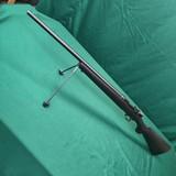 Custom Sako L-46 action, 222 Remington, Clifton stock with built in bipod, Canjar trigger