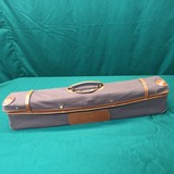 As new motor case for shotgun with one set of barrels, includes cover