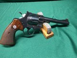 "Colt Officers Model Match in 22 lr, 6"" barrel, all original, 1965 - 1 of 8"