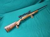 Custom BRNO ZKW 465 in 222 Remington, California French walnut stock, excellent conditon