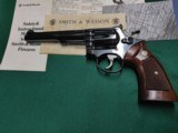 Smith and Wesson model 17-3 in original box, 3 Ts. excellent condition