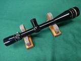 Leupold Vari-X III 6.5-20x40 riflescope, gloss finish, target dot reticle, target elevation adj.