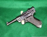 EAST GERMAN PRODUCED AND ASSEMBLED 9MM LUGER