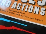 SIGNED Single Shot Rifles and Actions by Frank de Haas 1969 Paperback Book - 4 of 13