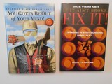 If It Ain't Broke, Fix It! (2005) AND You Gotta Be Out of Your Mind (2006) by Gil & Vicki Ash Two Hardback Books - 1 of 12