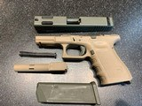 Glock G23C Gen 3, .40S&W with Custom Cerakote finish and all accessories - 10 of 12