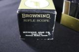 BROWNING RIFLE SCOPE 2 1/2 X 8X - 4 of 5