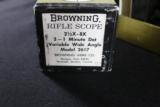 BROWNING RIFLE SCOPE 2 1/2 X 8X - 3 of 5