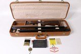 BROWNING SUPERPOSED MIDAS 12 GA TWO BARREL SET WITH CASE