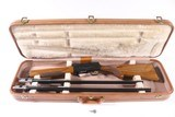 BROWNING AUTO 5 SWEET SIXTEEN TWO BARREL SET WITH CASE