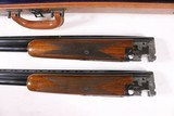 BROWNING SUPERPOSED 20 2 3/4'' AND 3'' GA TWO BARREL SET WITH CASE - 8 of 12