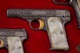 BROWNING RENAISSANCE .25 ACP, .380 ACP, AND 9 MM SET WITH CASE - 3 of 21