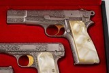 BROWNING RENAISSANCE .25 ACP, .380 ACP, AND 9 MM SET WITH CASE - 4 of 21