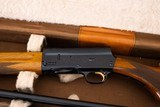 BROWNING AUTO 5 LIGHT TWENTY TWO BARREL SET WITH CASE - 3 of 8