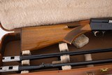 BROWNING AUTO 5 LIGHT TWENTY TWO BARREL SET WITH CASE - 4 of 8