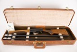 BROWNING AUTO 5 LIGHT TWELVE TWO BARREL SET WITH CASE