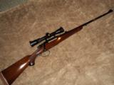 BRNO Model 21 7mm Mauser Double Square Bridge
